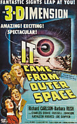 1950s Movies Prints - It Came From Outer Space, Kathleen Print by Everett