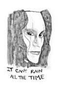  Brandon Lee Framed Prints - It cant rain all the time Framed Print by Rebecca Wood