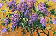Brunch Paintings - It is Lilac Time 2 by Marta Styk