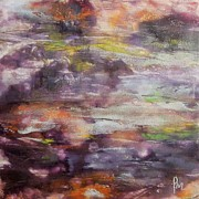 Encaustic Paintings - It is thawing by Dragica  Micki Fortuna