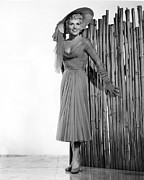 1950s Portraits Framed Prints - It Should Happen To You, Judy Holliday Framed Print by Everett