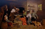 It Takes A Village  Print by Curtis James