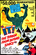 Horror Movies Framed Prints - It The Terror From Beyond Space, Ray Framed Print by Everett