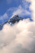Wolken Prints - Italian and Swiss Alps 2 Print by Bianca Baker