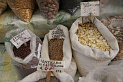 Bologna Photos - Italian Beans And Spices At An Outdoor by Gina Martin