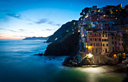Cinque Terre Photos - Italian Coast Romance by Mike Reid