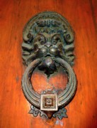 Florentine Posters - Italian Door Knocker Poster by Jen White
