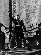 World Leader Photo Prints - Italian Fascist Leader Benito Print by Everett