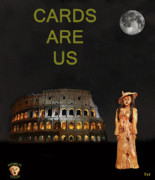 Ancient Rome Mixed Media - Italian Fashion by Eric Kempson