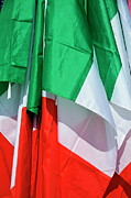 Authority Photos - Italian flags by Sami Sarkis