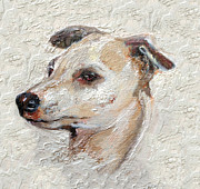 Dogs Prints - Italian Greyhound Print by Enzie Shahmiri