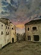 Italian Landscape Print by Nicla Rossini