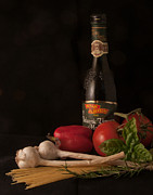 Balsamic Vinegar Art - Italian Palate Number 1 by Constance Sanders