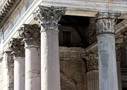 Rome Photos - Italian Pantheon by Luiz Felipe Castro