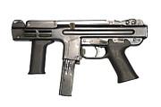 Italian Spectre M4 Submachine Gun Print by Andrew Chittock