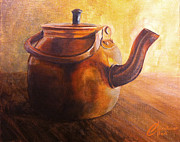 Teakettle Framed Prints - Italian Teakettle Framed Print by Christopher Clark