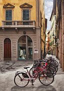 Window And Doors Framed Prints - Italian Transportation Framed Print by Sharon Foster