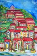 Patricia Taylor - Italian Village on a Hill