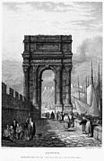 1833 Framed Prints - Italy: Ancona, 1833 Framed Print by Granger