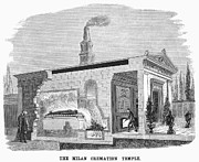 Cremation Photos - Italy: Crematorium, 1881 by Granger