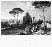 Italian Landscape Photo Prints - Italy: Frascati, 1832 Print by Granger