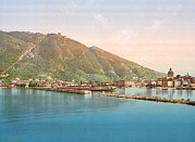 Photochrom Photos - Italy, Lake Como, Lago Di Como by Everett