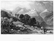 Italian Landscape Photo Prints - Italy: Licenza, 1833 Print by Granger