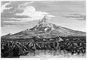 Italian Landscape Photo Prints - Italy: Mount Etna, 1810 Print by Granger
