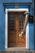 Burano Prints - Italy old door Print by Joana Kruse