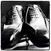 Still Life Art - Italy Shoes Whose Size Does Not Fit To by Norimoto Saeki