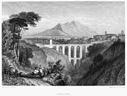 Italian Landscape Photo Prints - Italy: Soracte, 1832 Print by Granger