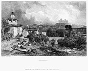 Italian Landscape Photo Prints - Italy: Spoleto, 1832 Print by Granger