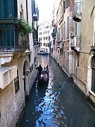 Yvonne Ayoub - Italy Venice gondola on a canal