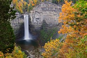 Taughannock Falls State Park Framed Prints - Ithaca is Gorges Framed Print by Tom Schwabel