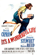 Films By Frank Capra Posters - Its A Wonderful Life, Donna Reed, James Poster by Everett