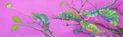 Jungle Pastels Prints - Its All Just an Illusion Print by Tracy L Teeter