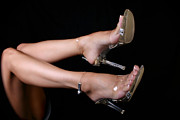 Clear Shoes Prints - Its Clear Print by Deelite Photography