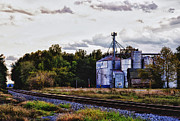 Feed Mill Metal Prints - Its Graining Metal Print by Kelly Reber