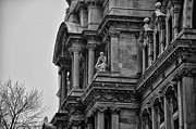 Philly Photo Prints - Its in the Details - Philadelphia City Hall Print by Bill Cannon
