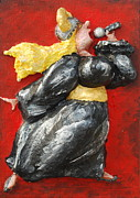 Chubby Art Reliefs - Its Not Over.... by Alison  Galvan