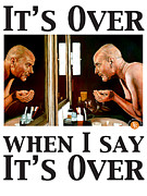 Aaron Prints - Its Over When I Say Its Over Print by Tom Roderick