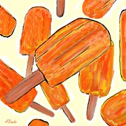 Buyart Prints - Its Raining Dreamsicles Print by Alec Drake