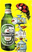Sports Art Mixed Media - Its Still Beer by Rob M Harper