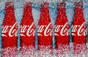 Coke Photos - Its The Real Thing by Susan Candelario