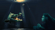 Mermaids Digital Art - Its Time to Stop by Alex Hardie