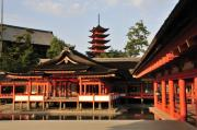 Shrine Prints - Itsukushima Shrine Miyajima Japan Print by Andy Smy