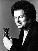 1980s Framed Prints - Itzhak Perlman, Ca. 1980s Framed Print by Everett