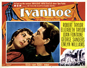 Period Clothing Posters - Ivanhoe, Elizabeth Taylor, Robert Poster by Everett