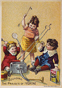 1880s Prints - IVORINE TRADE CARD, c1880 Print by Granger