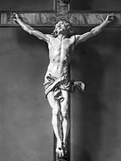 Bologna Photos - Ivory Crucifix by Granger